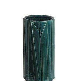 Privilege Medium Turquoise Ceramic Vase
