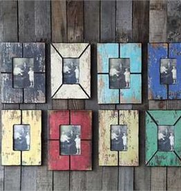 "4x6"" & 5x7"" MDF Photo Frame, Distressed Wood Finish"