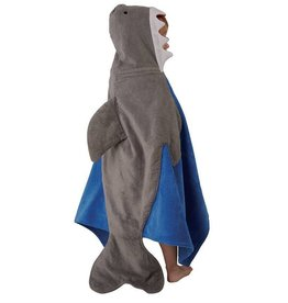 Shark Hooded Towel, One Size