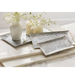 Stacked Tin Tray Set
