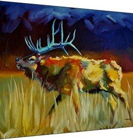 Meadow Bull 18x24