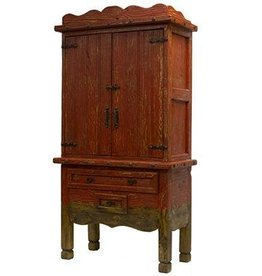 Antique Color Wash Armoire