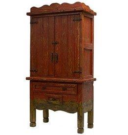 Antique Color Wash Armoire