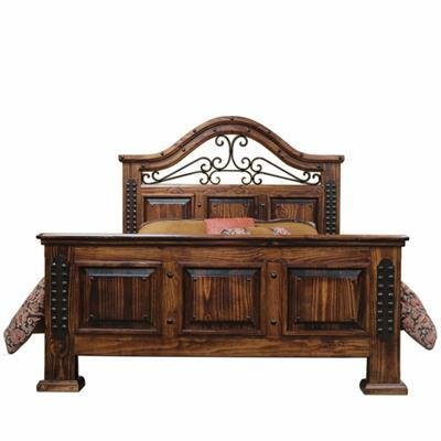 fine lacquer wood and iron bed beckman 39 s