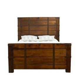 Oviedo Walnut Bed