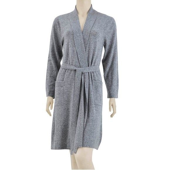 deluxe cashmere robe beckman 39 s. Black Bedroom Furniture Sets. Home Design Ideas