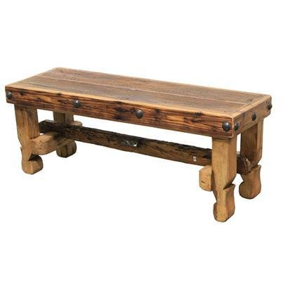 Old Wood Bench Seat