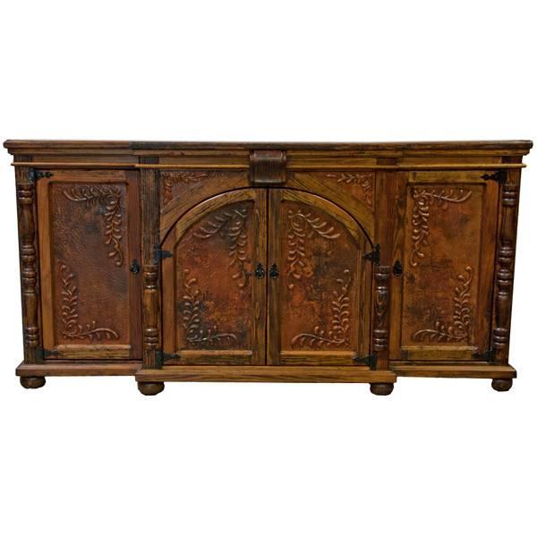 Old Wood Copper Buffet - Beckmans