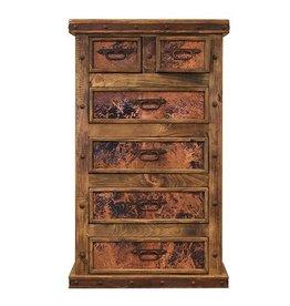 Copper Panel Dresser