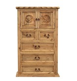 Country Chest W/Rope and Star