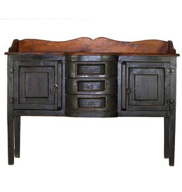 Henriette Painted Walnut Sideboard