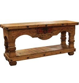 Old Wood Console