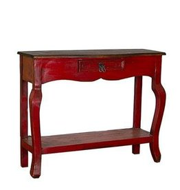 Painted Walnut Ale Console