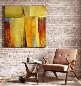 Rustic Arrangement Gel Coat Printed Canvas