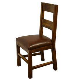 Dining Chair W/Leather Seat