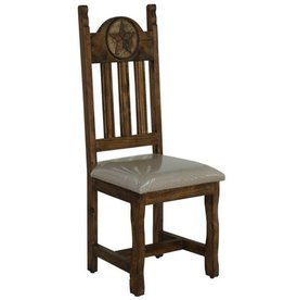 Dining Chair W/Stone Star