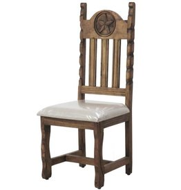 Dining Chair W/Rope and Star