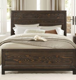 Homelegance Queen Branton Bed, Antique Brown