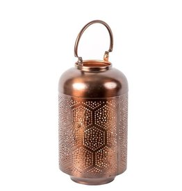 Privilege Small Iron Lantern Bronze/Copper