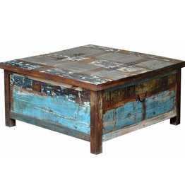 Painted Lift Top Trunk/Coffee Table
