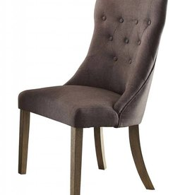 Homelegance Anna Claire Side Wing Chair - Driftwood/Grey
