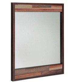 Tavarua Wooden Frame Mirror