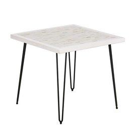 Woodbrick End Table