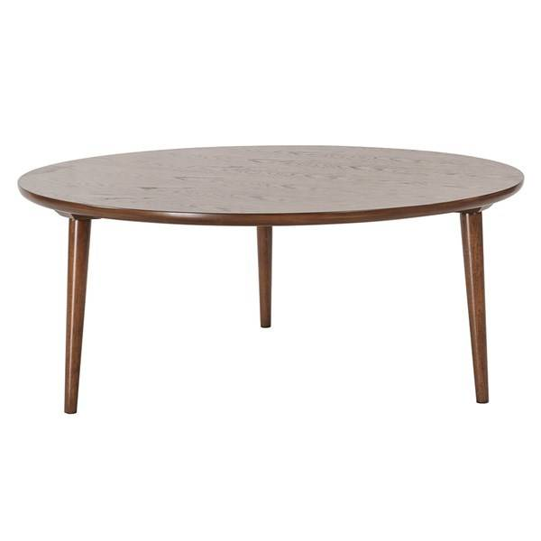mid mod round coffee table - beckman's