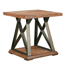 Weston X Base End Table