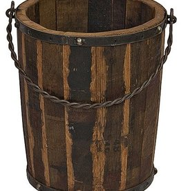 Wood & Iron Bucket