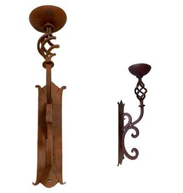 Iron Spiral Wall Sconce