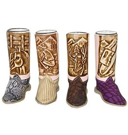 Western Boot Shot Glass