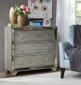 Garner 3-Drawer mirrored Chest