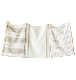 Multi Harvest Sienna Plaid Dishtowel Set of 3