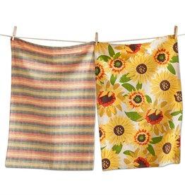 Sunflower Dishtowel Set of 2
