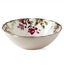 Greenery Melamine Serving Bowl