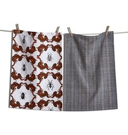 Wicked Bugs Dishtowel Set of 2