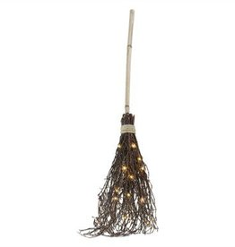 Light Up LED Witches Broom