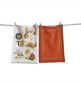 Squash Dishtowel Set of 2