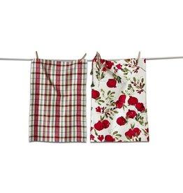 Pomegranate Dishtowel Set of 2