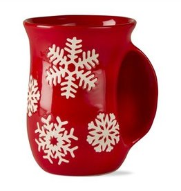 Snowflake Hand Warmer Mug