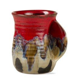 Reactive Glaze Hand Warmer Mug