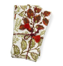 Harvest Foliage Napkin Set of 4