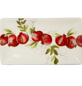 Pomegranate Rectangle Platter