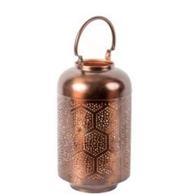 Privilege Medium Iron Lantern Bronze/Copper