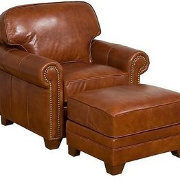 Bentley Fabric Leather Chair