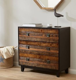 Chattered Wood Accent Chest