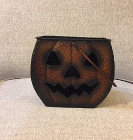 Metal Halloween Pumpkins, X-Small