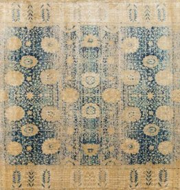 Anastasia Collection  Blue Gold 1'6in x 1'6in.