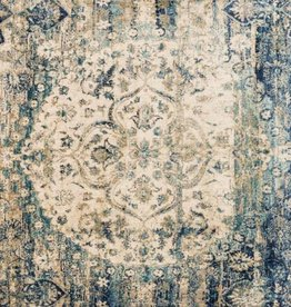 Anastasia Collection  Blue Ivory 2'7in. x 4'0in.